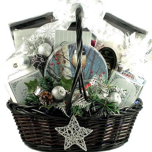 Starry Night Christmas Gift Basket