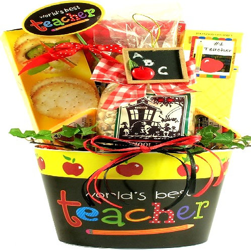 Best Teacher Ever Gift Basket