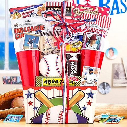 Ballpark Favorites Gift Basket