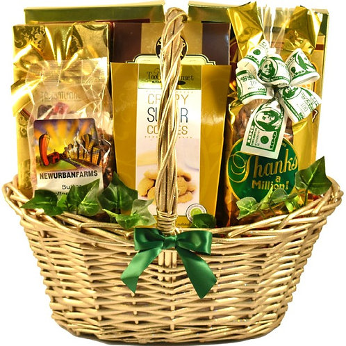 Gift Basket Of Appreciation, Thank You For All You Do