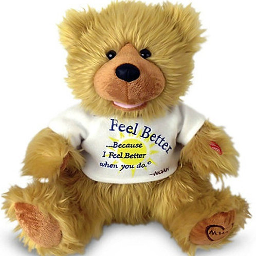 Feel Better Talking Bear To Help Anyone Get Well Soon