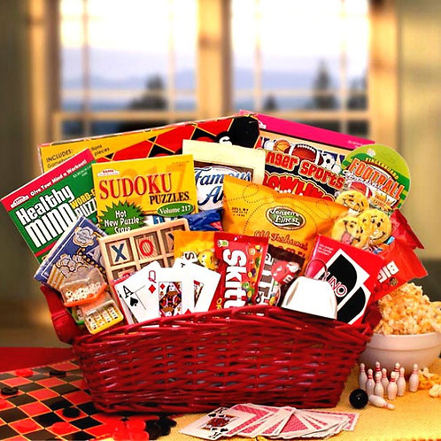 Fun Times For Kids Gift Basket
