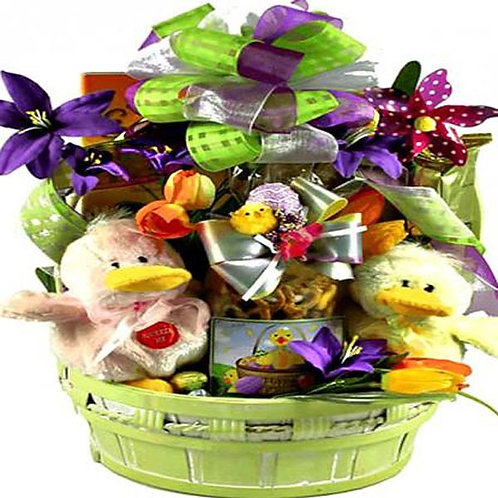 Quacking Duckies Easter Basket