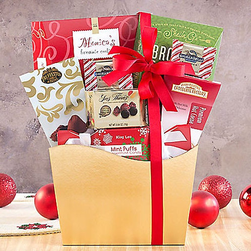 Holiday Candy and Sweets Gift Box