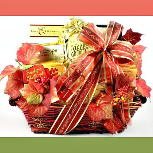 Deluxe Fall Gift Basket