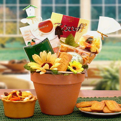 Sunflowers For You Gift Basket