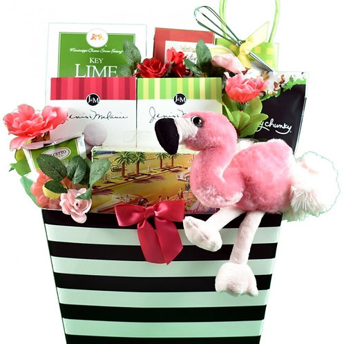 Perfect Paradise Beach Theme Gift Basket