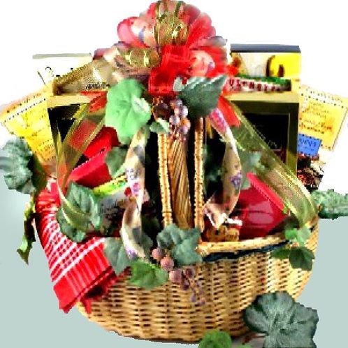 Gourmet Food Picnic Basket