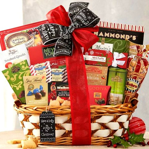 Season's Greetings Holiday Gift Basket