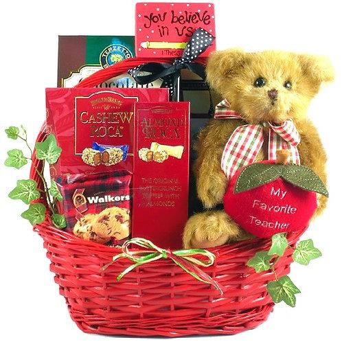 My Favorite Teacher Gift Basket