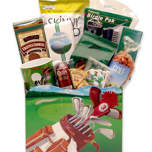 Golfers Gift Basket To Celebrate Your Favorite Golfer