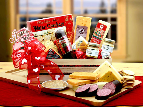 Best Selling Valentine Gift For Him, Sausage Gift Crate