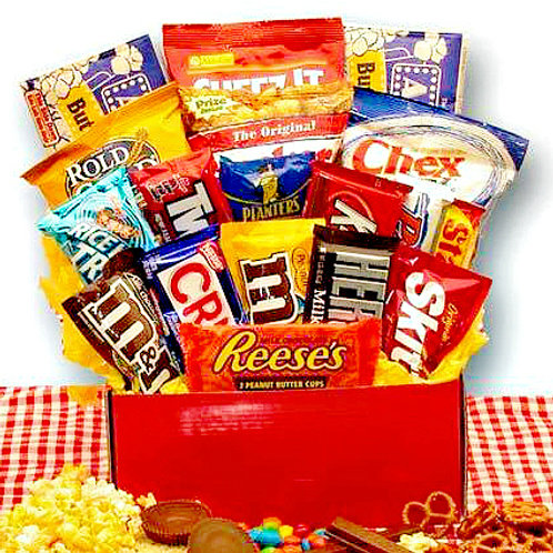 All American Favorites, Sweet & Salty Snacks Care Package