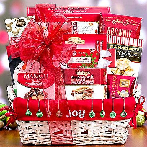 Joy To The World, Christmas Gift Basket
