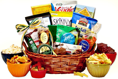Sugar Free Diabetic Gift Basket, Delicious, Healthy Alternative
