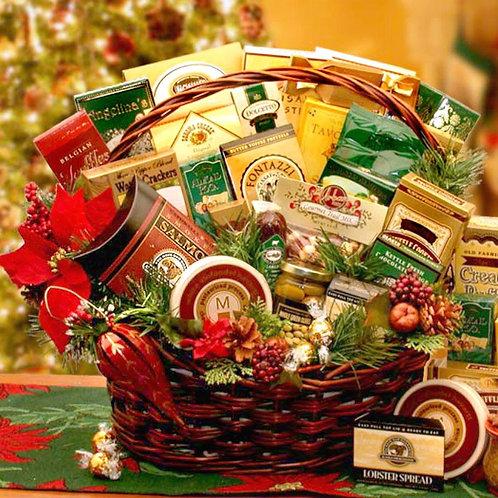 Holiday Grand Celebration Gift Basket