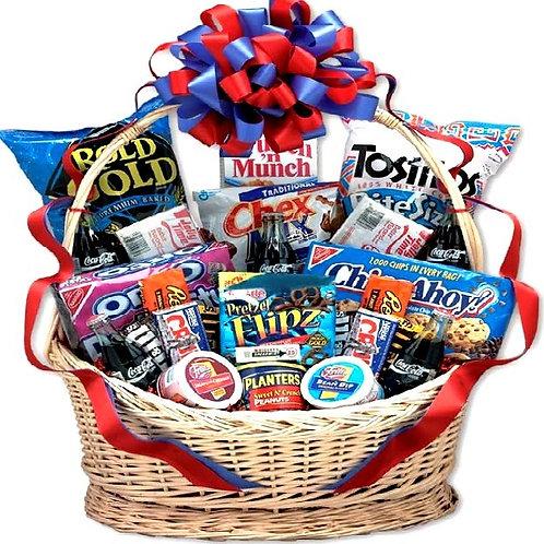 Deluxe Coca-Cola Gift Basket