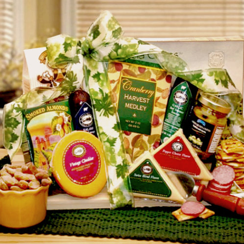 Sausage, Cheese, Savory Treats & Sweets Gourmet Gift