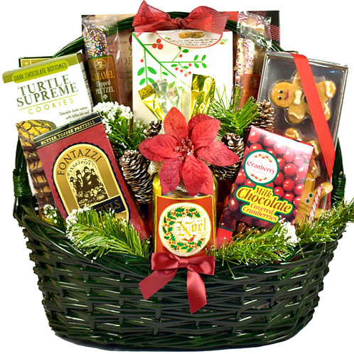 "Make A Lasting Impression With ""Tis The Season"" Holiday Basket"