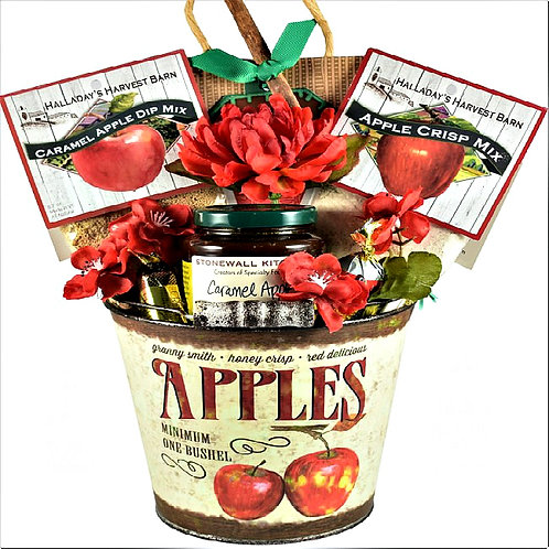 Apple Themed Gift Basket, Great Fall or Anytime Gift