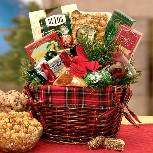 Old Fashioned Christmas Gift Hamper