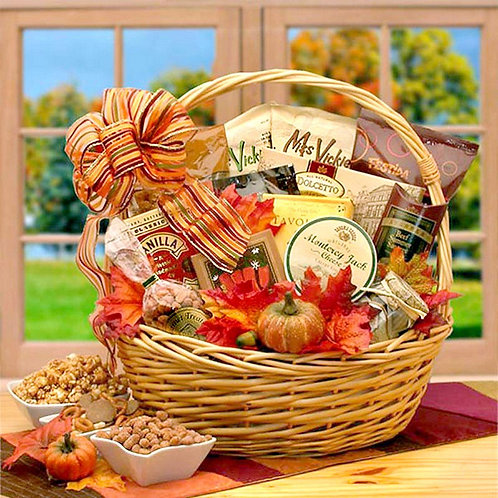 Harvest Snacks, Fall Gift Basket