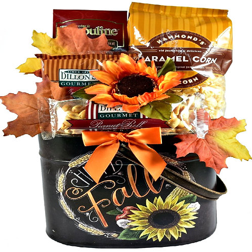 It's Harvest Time Gift Basket, Magnificent Fall Centerpiece