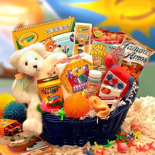 Fun Filled Gift Basket For Children