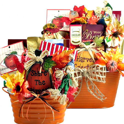 Pumpkin Patch Gift Basket, Perfect For Fall & Thanksgiving