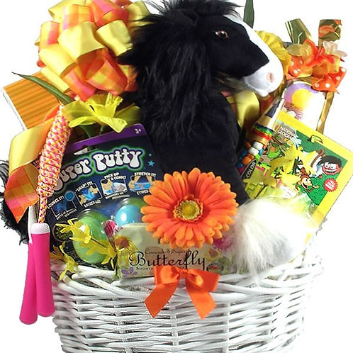 Angus The Horse Kids Basket