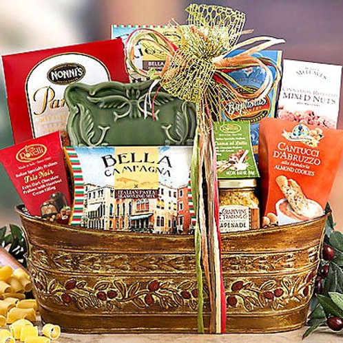 Italian Gourmet Food Basket
