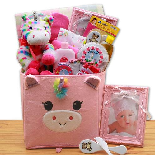 Dainty Tails, New Baby Unicorn Gift Set