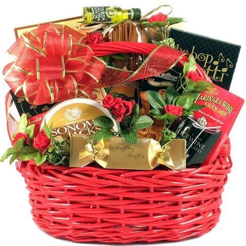 Romantic Date Night Gift Basket