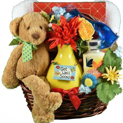 Get Well Soon Bear Hugs, Cheery Get Well Gift Idea