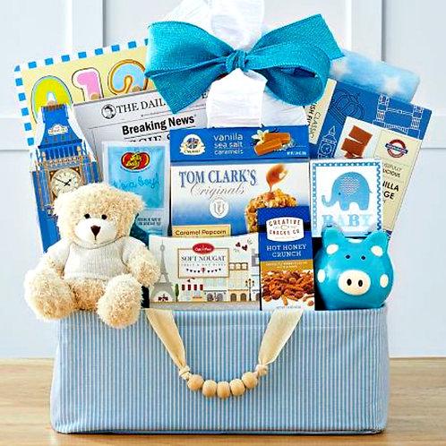 Bundle Of Joy, Welcome New Baby Boy Gift Basket