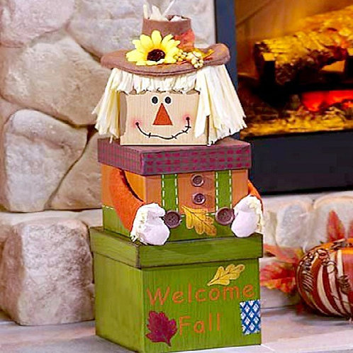 Fall, Scarecrow Gift Tower