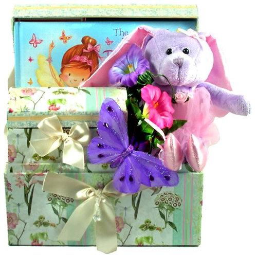 Easter Gift Basket, Butterfly Ballerina