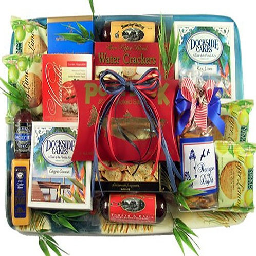 Coastal Snacks Gift Platter
