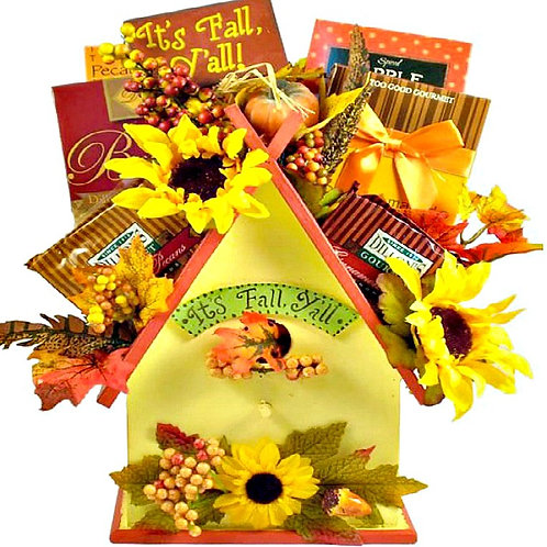 Fall Re-Tweet Gift Basket
