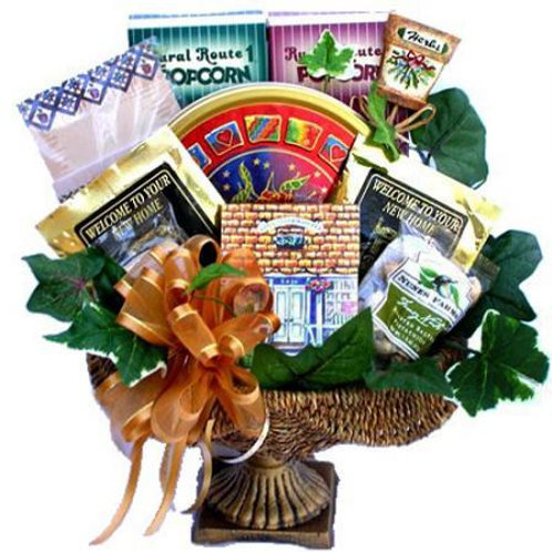 Housewarming Gift Basket, Welcome To Your New Home