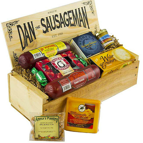 Savory Gourmet Meat and Cheese Gift Assortment
