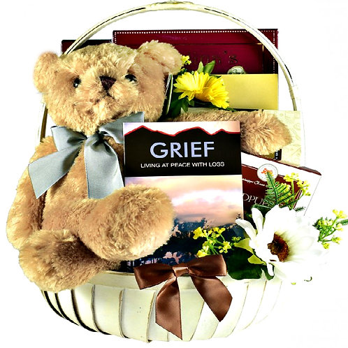 Comfort Gift Basket, Sympathy Gift For A Grieving Heart