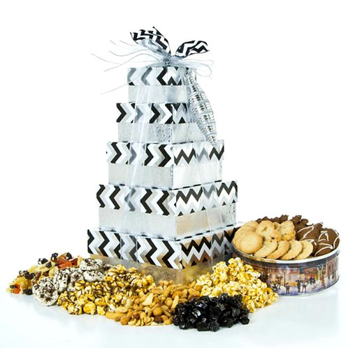 Elegant Gift Boxes Packed With Delicious Gourmet Goodies