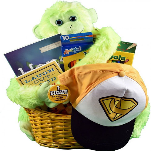 Cancer Gift Basket For Kids, Cheerful Children's Gift