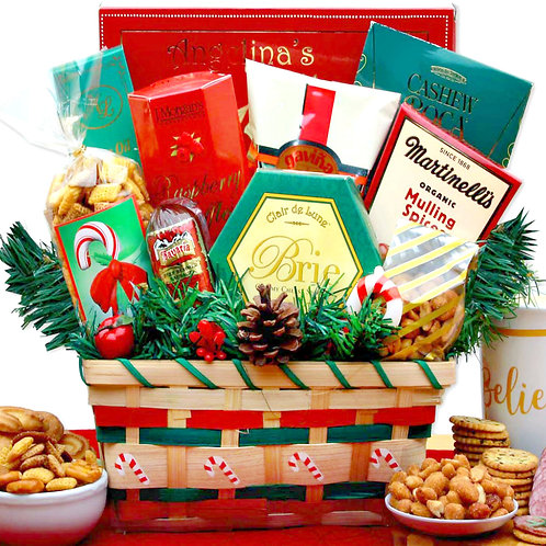 A Taste of Christmas, Holiday Gift Basket