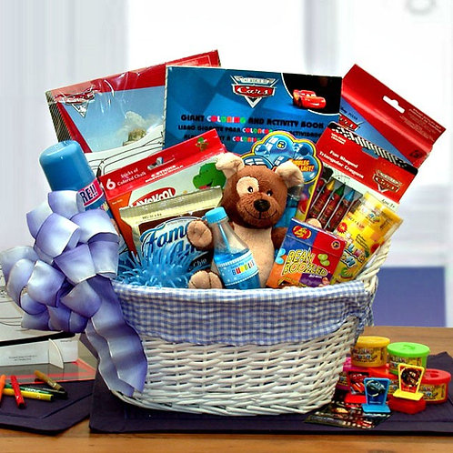 Little Boys Fun and Games Gift Basket