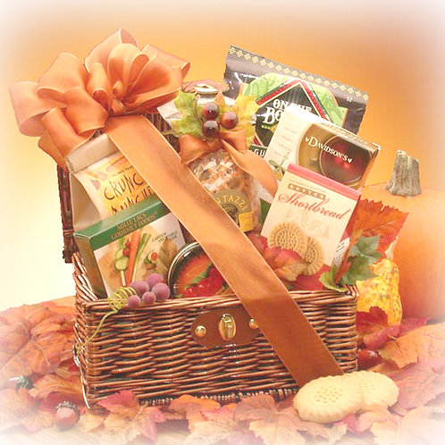 Give Thanks Fall Gift Basket, Thanksgiving Gift Baskets
