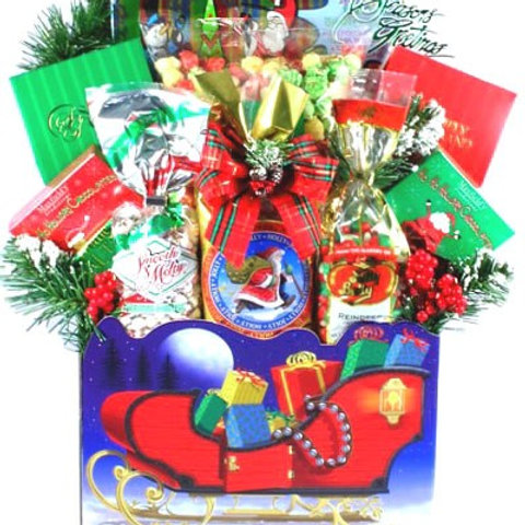 Sleigh Bells Holiday Gift Basket