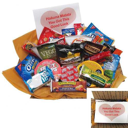 Good Luck Care Package