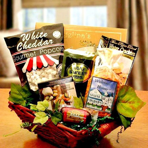 New Home Gift Basket, Welcome!